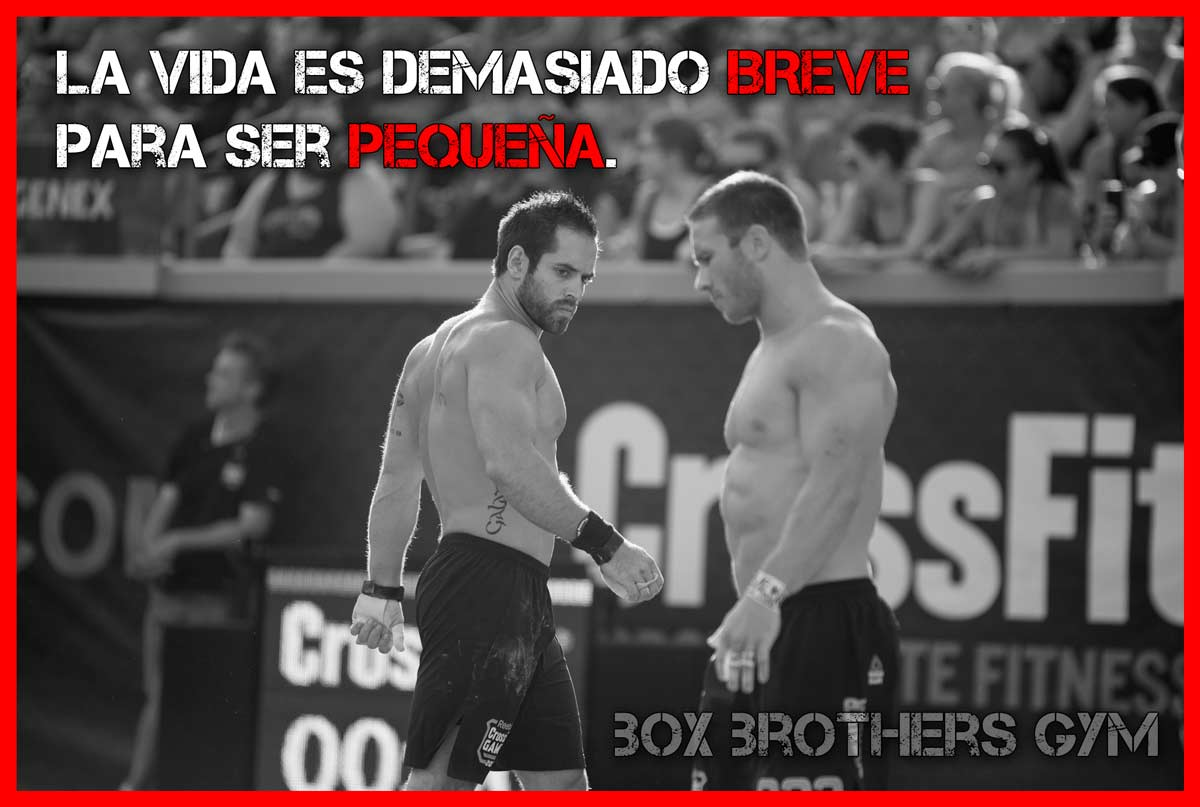 Frases Motivadoras Box Brothers Gym
